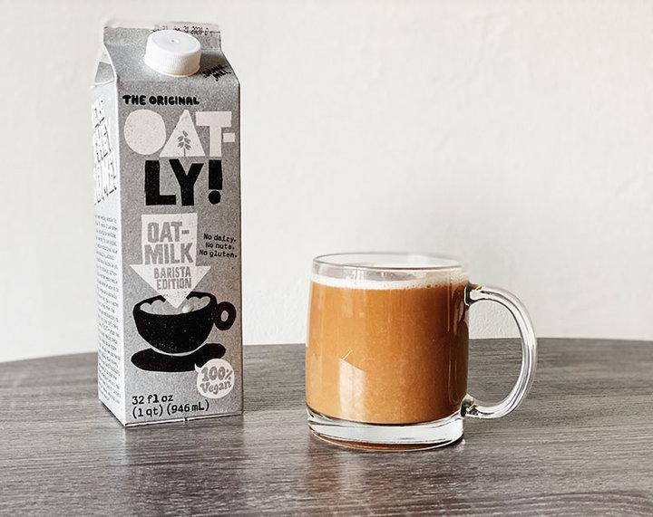 植物奶越来越受欢迎,星巴克开始在一些门店供应燕麦奶